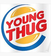 Young Thug Burger King Poster