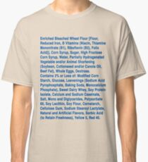Twinkie ingredients (blue text on light color shirts) Classic T-Shirt