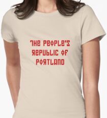 The People's Republic of Portland (red letters) T-Shirt