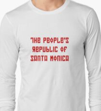 The People's Republic of Santa Monica (red letters) T-Shirt