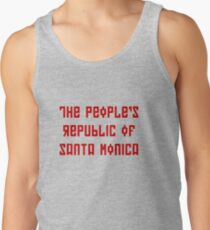 The People's Republic of Santa Monica (red letters) Tank Top