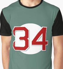 #34 Retired Graphic T-Shirt