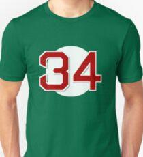 #34 Retired Unisex T-Shirt