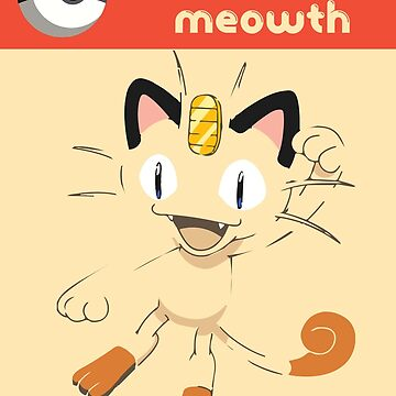 Meowth by mrmagoofl