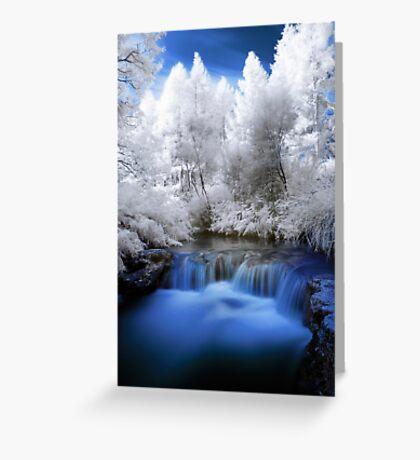 Kerosine creek in infrared 2 Greeting Card