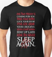 1, 2 Freddy's Coming For You... Slim Fit T-Shirt