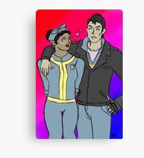 butch being very heterosexual Canvas Print
