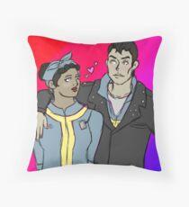 butch being very heterosexual Throw Pillow