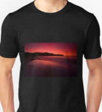 Port Jackson sunset IV Unisex T-Shirt