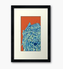 politician judo cane throne Framed Print