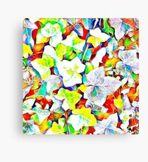 Ivy Abstract Canvas Print