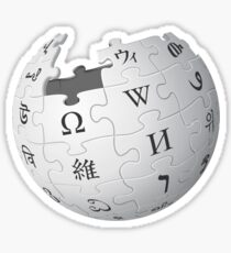 The Wikipedia Logo Sticker