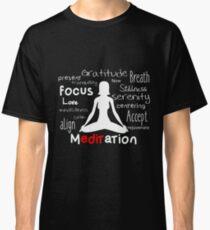 Camiseta clásica Meditación