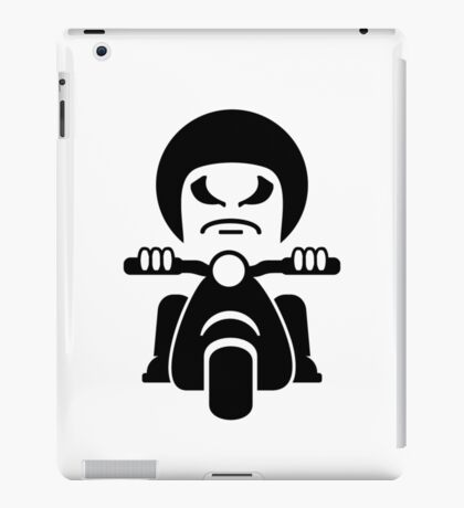 Bad Dude on a Scooter VRS2 iPad Case/Skin