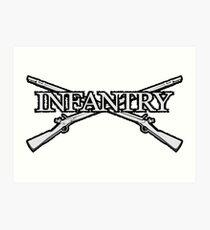 Infantry Art Print