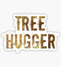 Tree Hugger Sticker