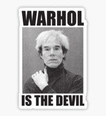 F*ck Andy Warhol Sticker