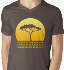 Lion King Song T-Shirt mit V-Ausschnitt für Männer