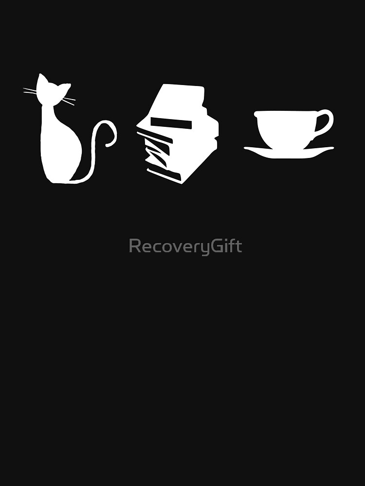 Cats, Books, and Coffee by RecoveryGift