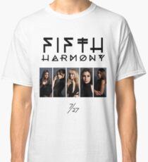 Fifth Harmony 7/27 Portrait #BlackText Classic T-Shirt