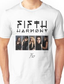 Fifth Harmony 7/27 Portrait #BlackText Unisex T-Shirt