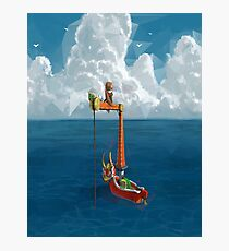 Wind Waker-Lone Ocean  Photographic Print