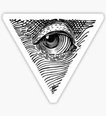 The eye Sticker