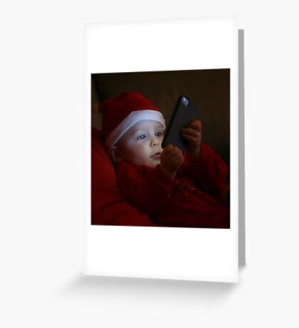iLuigi Greeting Card