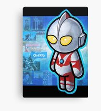 ULTRAMAN POOTERBELLY Canvas Print