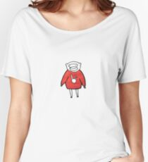 Cozy Monkey Women's Relaxed Fit T-Shirt