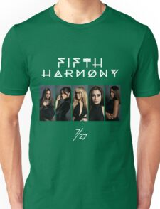Fifth Harmony 7/27 Portrait #WhiteText Unisex T-Shirt