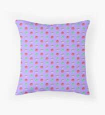 Pattern Macarons Throw Pillow