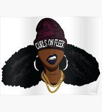 Curls on FLEEK Poster