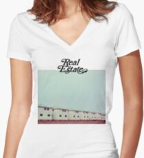 Real Estate, Days Women's Fitted V-Neck T-Shirt