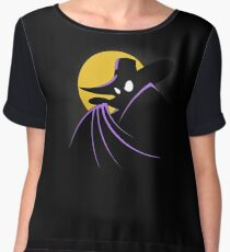 The Terror that Flaps in the Night Women's Chiffon Top