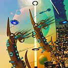 PORT XG-5938 IN THE QUILL REGION OF THE DUJORGANA SECTOR ( The New Earth) by Michael Beers