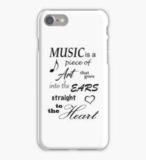 Music Quotes iPhone Case/Skin