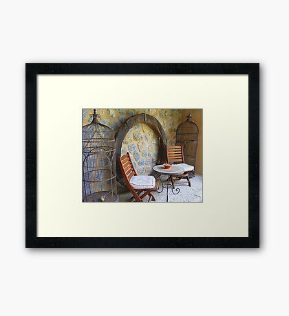 Birdcages Framed Print