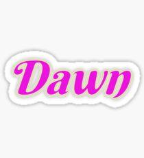 Dawn Sticker