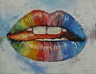 Lips by Michael Creese