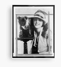 Old Time Photographs - Virginia Rappe Metal Print