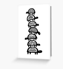 It's turtles all the way down Greeting Card