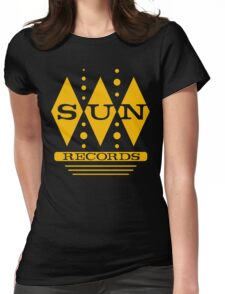 Diamonds Of Sun Womens Fitted T-Shirt