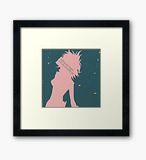 Haruko Haruhara Minimalist Framed Print