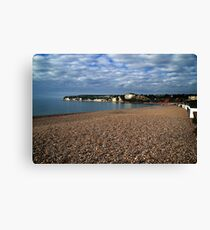 Seaton Seafront Canvas Print
