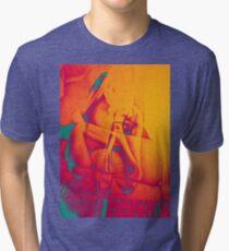Lock me up inside, 2016, 50-70cm, graphite crayon on paper Tri-blend T-Shirt
