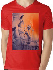 Lock me up inside, 2016, 50-70cm, graphite crayon on paper Mens V-Neck T-Shirt
