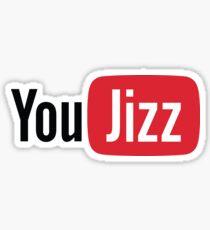 YouTube or YouJizz? Both! Sticker