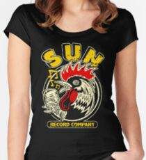 Rooster Of The Sun Women's Fitted Scoop T-Shirt