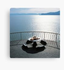 Round Table Canvas Print